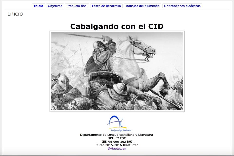CABALGANDO CON EL CID