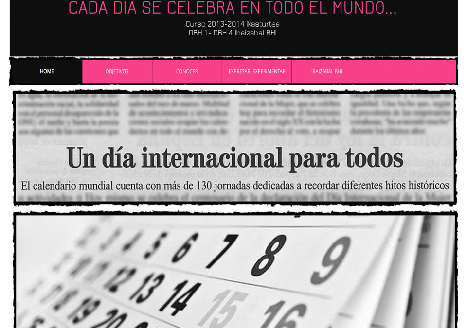 UN DÍA INTERNACIONAL PARA TODOS