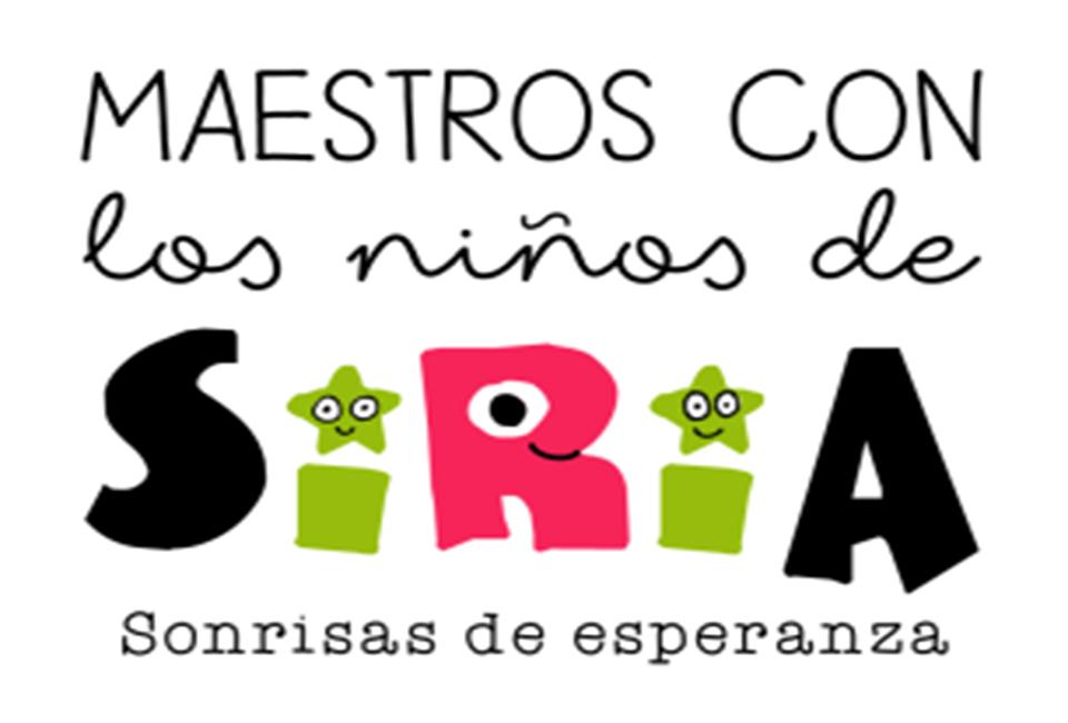 PROYECTO MAESTROS CON LOS NIÑOS DE SIRIA