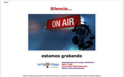 SILENCIO… ESTAMOS GRABANDO