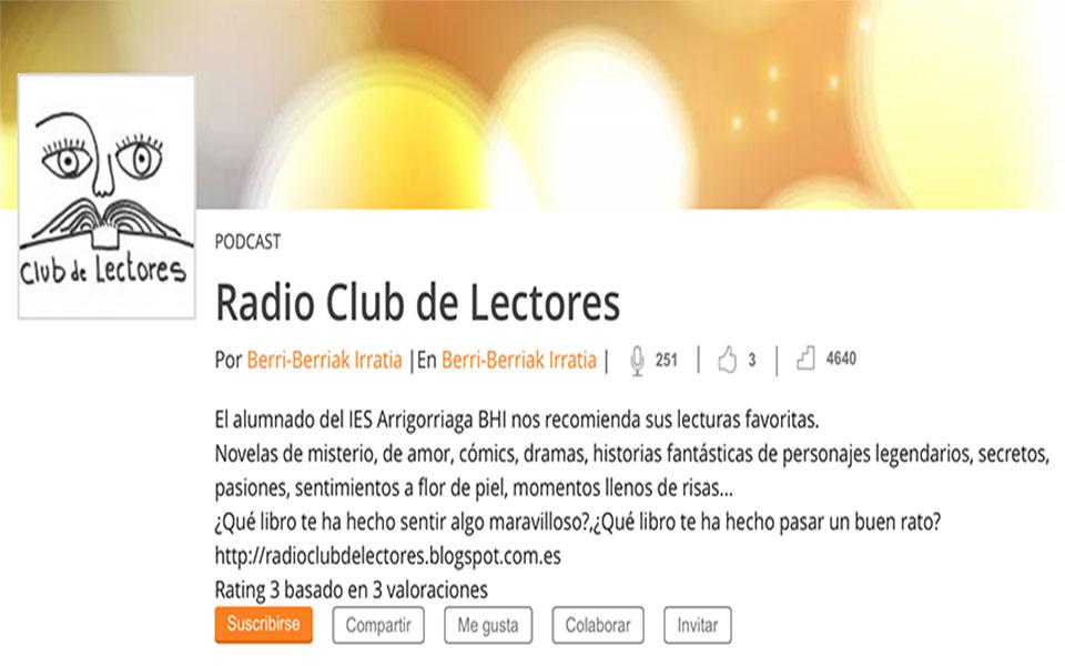 #RadioClubdeLectores VUELVE. FOMENTO DE LA LECTURA.