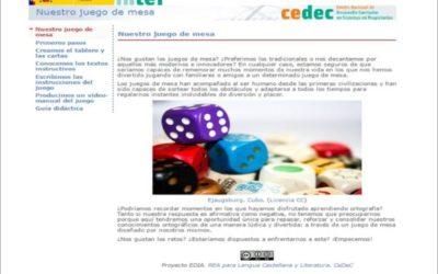 #proyectoEDIA: 'NUESTRO JUEGO DE MESA'