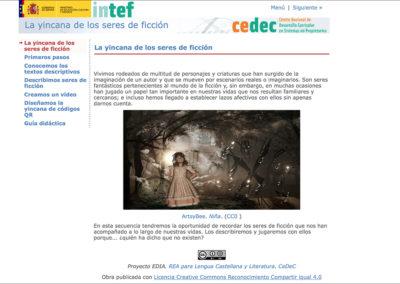 YINCANA DE LOS SERES DE FICCIÓN
