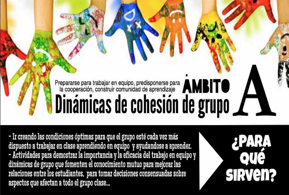 DINÁMICAS COOPERATIVAS PARA COHESIONAR EL GRUPO