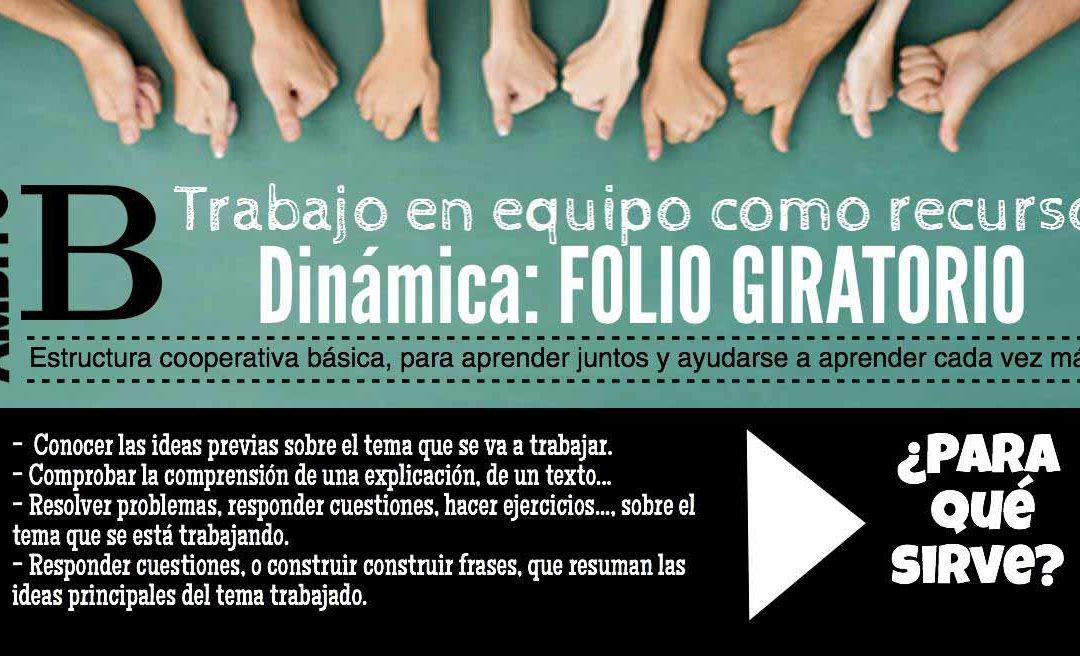 DINÁMICA COOPERATIVA: EL FOLIO GIRATORIO