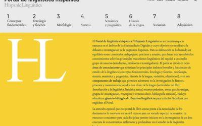PORTAL DE LINGÜÍSTICA HISPÁNICA