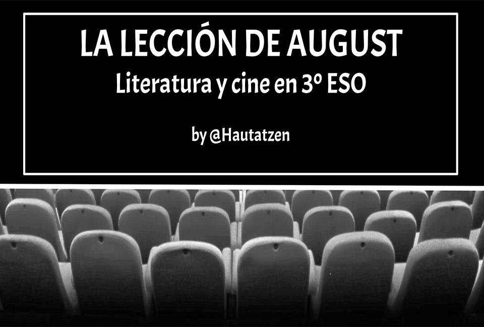 LITERATURA Y CINE EN EL AULA CON WONDER