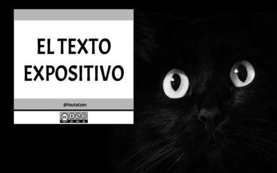 MODALIDAD TEXTUAL: EL TEXTO EXPOSITIVO
