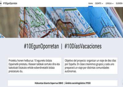 10 DÍAS DE VACACIONES POR ESPAÑA