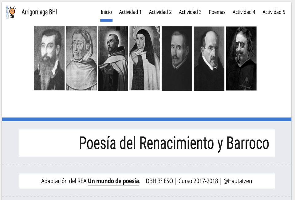 POESÍA RENACIMIENTO Y BARROCO