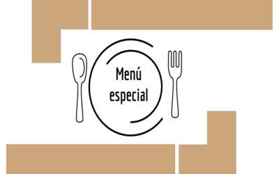 MENÚ ESPECIAL PARA TEXTO DESCRIPTIVO